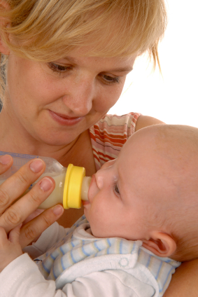 Baby Led Bottle Feeding